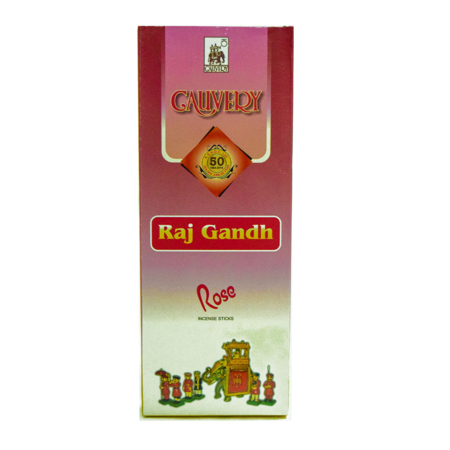 Cauvery Raj Gandh Rose Incense Sticks