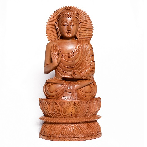 Sandalwood Sitting Budha