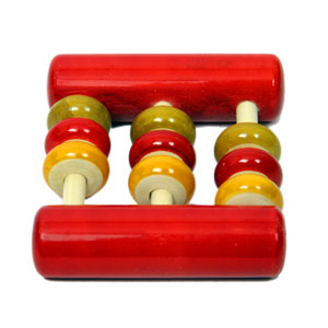 Lac  Abacus Rattle