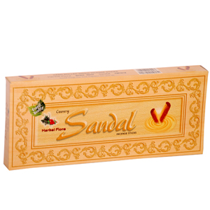 Cauvery Sandal Incense Sticks  Herbal Flora
