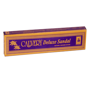 Cauvery Delux Sandal Natural Incense Sticks