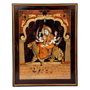 Rosewood Durga Wall Panel