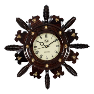 Rosewood Wall Clock