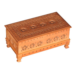 Sandalwood Jalli Cutting Box