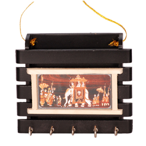 Wooden Key Stand  Dasara Design